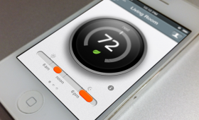 Uninvited Nest Thermostat Mobile Redesign